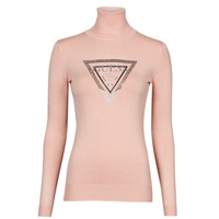 material Women jumpers Guess ADELLE TN LS SWTR Pink