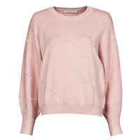material Women jumpers Guess GINNY RN LS SWTR Pink