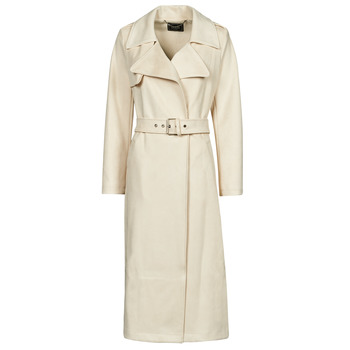 material Women Trench coats Guess BARAA TRENCH Beige