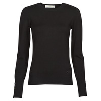 material Women jumpers Guess ELINOR RN LS SWTR Black