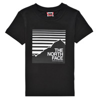 material Boy short-sleeved t-shirts The North Face BOX TEE Black