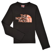 material Boy Long sleeved shirts The North Face EASY TEE LS Black