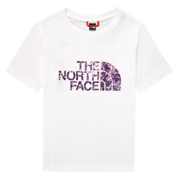 material Girl short-sleeved t-shirts The North Face EASY BOY TEE White
