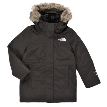 material Girl Parkas The North Face ARCTIC SWIRL PARKA Black