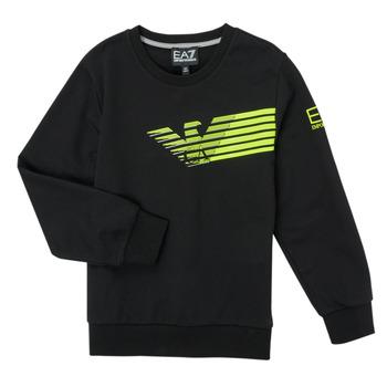 material Boy sweaters Emporio Armani EA7 SOLIR Black