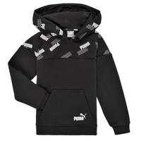 material Boy sweaters Puma PUMA POWER AOP HOODIE Black