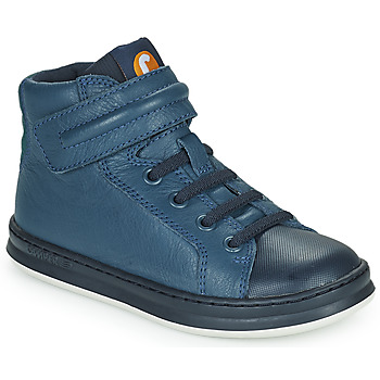 Shoes Children High top trainers Camper RUNNER Blue