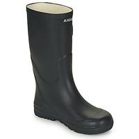 Shoes Children Wellington boots Aigle WOODY POP Marine
