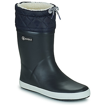 Shoes Children Snow boots Aigle GIBOULEE Marine / White