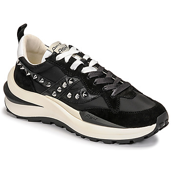 Shoes Women Low top trainers Ash SPIDER 621 Black