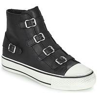 Shoes Women High top trainers Ash VIRGIN Black