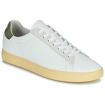 Shoes Men Low top trainers Clae BRADLEY CALIFORNIA White / Green