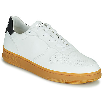 Shoes Men Low top trainers Clae MALONE VEGAN White / Blue