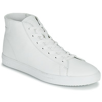 Shoes Men High top trainers Clae BRADLEY MID White