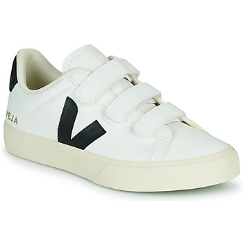 Shoes Low top trainers Veja RECIFE LOGO White / Black