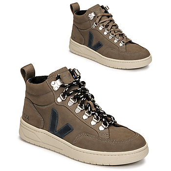 Shoes High top trainers Veja RORAIMA Taupe / Blue