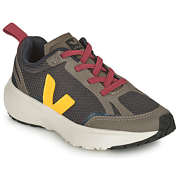Shoes Children Low top trainers Veja SMALL CANARY Green / Yellow