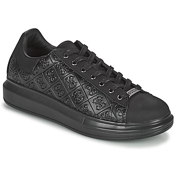 Shoes Men Low top trainers Guess SALERNO Black