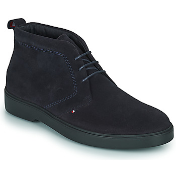 Shoes Men Mid boots Tommy Hilfiger CLASSIC SUEDE LACE BOOT Marine