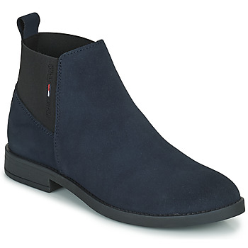 Shoes Women Mid boots Tommy Jeans ESSENTIALS CHELSEA BOOT Marine