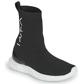 Shoes Girl High top trainers Karl Lagerfeld HEROS Black