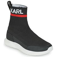 Shoes Boy High top trainers Karl Lagerfeld PELINDRA Black