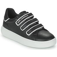 Shoes Children Low top trainers Karl Lagerfeld GOLINDA Black