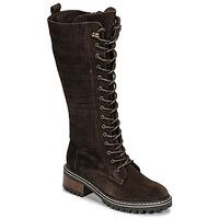 Shoes Women Boots Elue par nous KOFOUR Brown