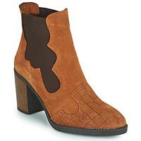 Shoes Women Ankle boots Elue par nous KOISSON Camel