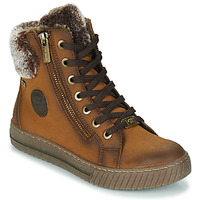 Shoes Women High top trainers Tom Tailor 2192208 Camel