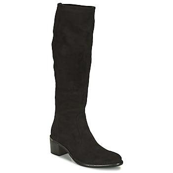 Shoes Women Boots Adige DIANE V1 CAMOSCIO NOIR Black