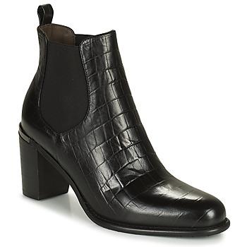 Shoes Women Boots Adige FANY V5 CAIMAN NOIR Black