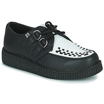 Shoes Derby shoes TUK VIVA LOW TOE CREEPER Black / White