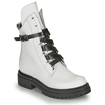 Shoes Women Mid boots Metamorf'Ose KAIDE White