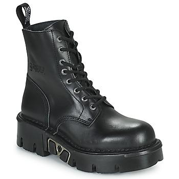 Shoes Mid boots New Rock M-MILI084N-S3 Black