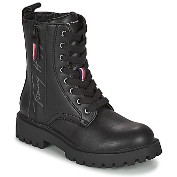 Shoes Girl Mid boots Tommy Hilfiger T3A5-31195-0289999 Black