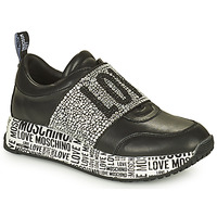 Shoes Women Low top trainers Love Moschino JA15234G1D Black
