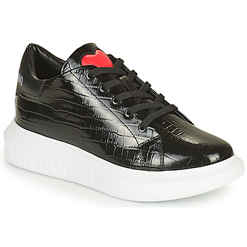 Shoes Women Low top trainers Love Moschino JA15284G1D Black