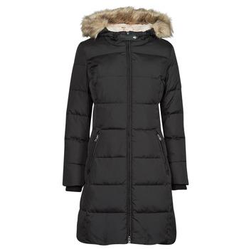 material Women Duffel coats Lauren Ralph Lauren FX LT HD DW-JACKET Black