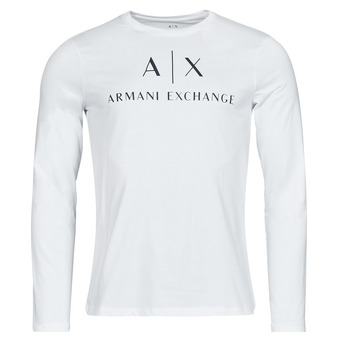 material Men Long sleeved shirts Armani Exchange 8NZTCH White
