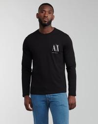 material Men Long sleeved shirts Armani Exchange 8NZTPL Black