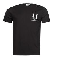 material Men short-sleeved t-shirts Armani Exchange 8NZTPH Black