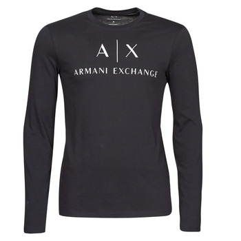 material Men Long sleeved shirts Armani Exchange 8NZTCH Marine