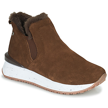 Shoes Women High top trainers Gioseppo JONDAL Brown