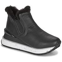 Shoes Women High top trainers Gioseppo FEDJE Black