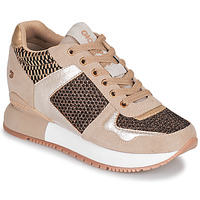 Shoes Women Low top trainers Gioseppo LILESAND Beige / Gold