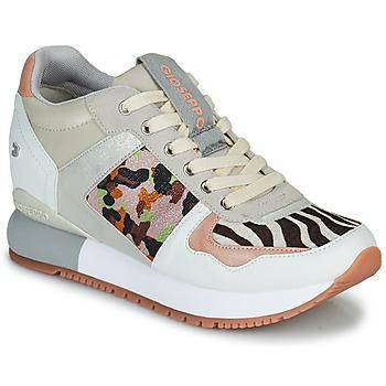 Shoes Women Low top trainers Gioseppo GISKE White / Multicolour
