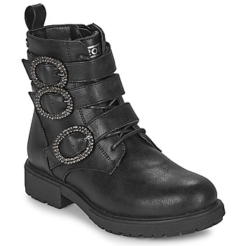 Shoes Girl Mid boots Gioseppo GOUVY Black