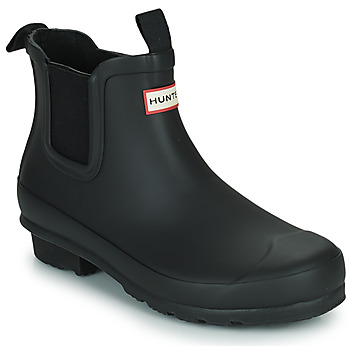Shoes Children Wellington boots Hunter ORIGINAL KIDS CHELSEA Black