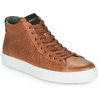 Shoes Men High top trainers Blackstone VG06-CUOIO Brown